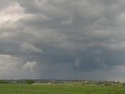 Funnel forming last night,  East of Missouri Valley