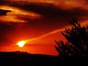 sunset clouds  6-29-2016