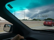 Storm clouds on 417