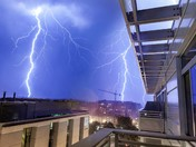 Thunderstorm in DC last night