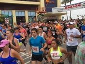 Annual Start of the Wharf to Wharf Marathon