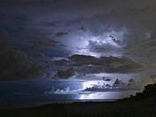 Summer Storm on Boca Beach