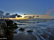 Sunrise At Sebastian Inlet Florida
