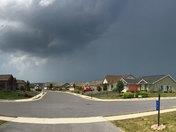 Panoramic Storm Shot