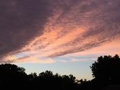 Evening Sky Color