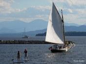 Having Fun on Lake Champlain