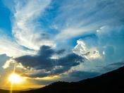 Another amazing Asheville sunset.