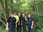 Boone Co firefighters saved my baby bird today