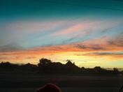 Sunset in Springdale.