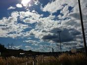 Clouds at Stein's Garden Center in Oconomowoc