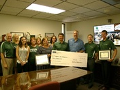 $5,000 Donation to Deliver the Difference in Leesburg