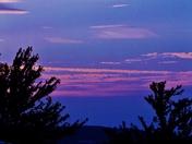 sunset clouds,  8-23-2016
