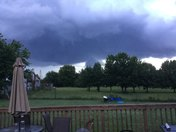 Clouds east of springhill