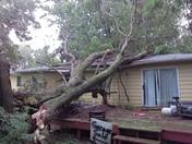 Storm Damage in Underwood, Iowa
