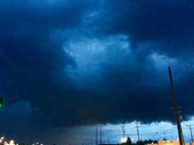 Storm clouds at Grants Ferry, Flowood
