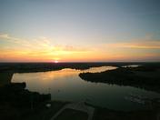 Cunningham Lake at sunset