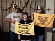 Steelers family fan