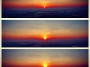 Mocksville Sunrise 8/27/16 From 400 ft