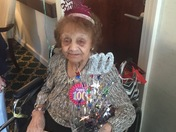 Laura Scalisi turns 100 years old .
