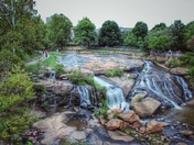 Falls park, Downtown Greenville