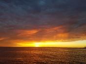 Its the sunrise