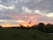 sunrise, Springfield Nebraska soccer complex 9-24-16