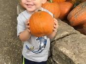 Ivan's got his good pumpkin
