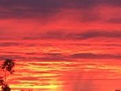 Sunset in Olathe, Ks