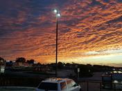 The sky looks magical