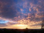 Dusk to sunset