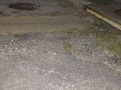 44 Wilfred act Towson 21204. Potholes stones