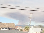 Loma Fire Time Lapse