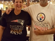 Patriots fan donates kidney to Steelers fan!