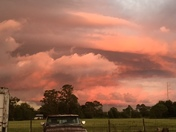 Awesome sky in St. Cloud manor