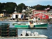 Lobster Traps, Lobster Boat, Lobster Shack