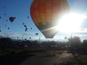 Near Hot Air Balloon Crash