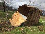 tornado in Brown County Ohio