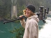 Filming at Deception Pass State Park