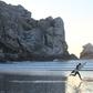 Morro Sunset Surfer Shuffle