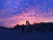 Sunset at Cape Henlopen