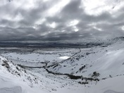 Spectacular Mono Lake Winter