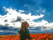 Princess in the poppies