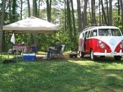 '67 VW BUS CAMPING IN VA