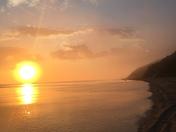 Long Island morning sun