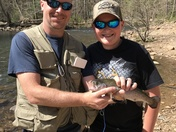 Trout Fishing at Douthat