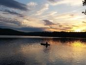 lake eaton sunset