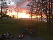 Sunset at Lakeside State Park