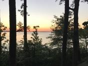Sunset at the benc