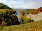 Letchworth State Park Canyon