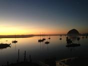 Moro Bay Sunset